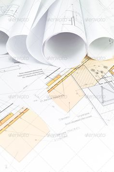 Construction Blueprint Angle, Architectural, Architecture, Background,  Blueprint, Business, Closeup,