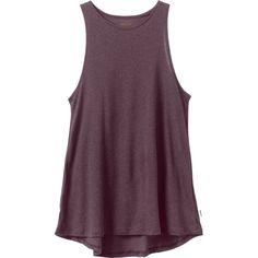 f98dbf08d RVCA Label High Neck Tunic Mauve Purple Tank Top   outfits&accessories