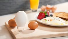 Clarifier un œuf avec Pluck !