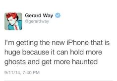 ok then you do that gerard<<the best part is that this isn't even a parody account. It's his actual account