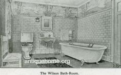 1910 House Interiors | Interior 1910 the bungalow bathroom flickr photo sharing