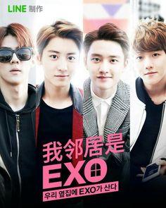 ♡ Exo Next Door Web Drama - mini episodes (2015) (5stars)