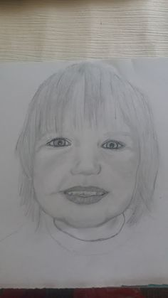 a portrait of my granddaughter