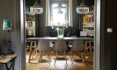 salle a manger Alexandra Nicolas Valla eames chaise royal roulotte