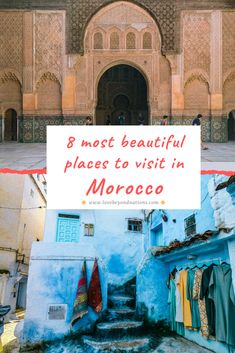 Beautiful Places To Visit, Most Beautiful, Tropical Paradise, Travel Guides, Winter Wonderland, Morocco, Places To Travel, Mists, Destinations