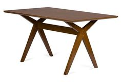 """Linus 59"""" Dining Table"""