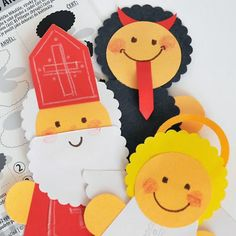Diy Paper, Paper Crafts, St Nicholas Day, Diy And Crafts, Crafts For Kids, Saint Nicolas, Winter Project, Creative Kids, Diy For Kids