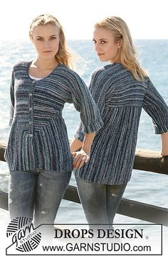 A nice take on EZ's modular sweaters. I would not use striping yarn. This is all garter stitch.