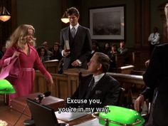 Never be afraid to stand your ground and take control of a situation like a boss. | 23 Important Life Lessons You Learned From Elle Woods