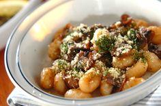 赤ワイン入りのキノコのソース! たっぷりからめて召し上がれ!キノコソースのニョッキ[洋食/麺料理(パスタ等)]2014.11.24公開のレシピです。