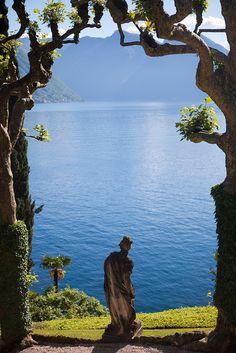 Lac de Côme : la villa del Balbianello by hubertguyon
