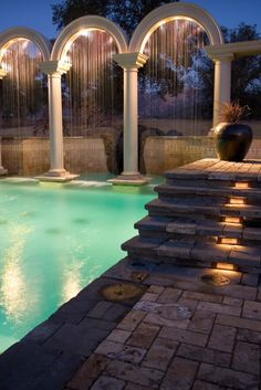 Amazing villa swimming pool by Artisan Home Resorts ᘡղbᘠ