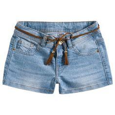 Short infantil menina jeans - Milon