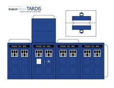 TARDIS Paper Toy by ~goobeetsa on deviantART