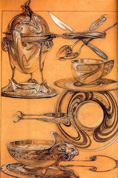 Oil Paintings of 3 Studies 1902 crayon gouache Czech Art Nouveau Alphonse Mucha Art for sale by Artists Mucha Art, Sketches, Painter, Drawings, Design Sketch, Artwork, Alfons Mucha, Art History, Artwork Painting