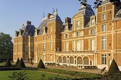 Chateau d'Eu, near Le Treport, Seine Maritime, Normandy, France.