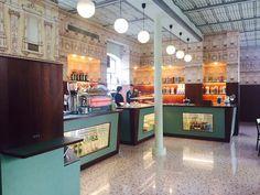 Fondazione Prada a Milano - the Bar Luce designed by Wes Anderson