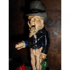 Tirelire Uncle Sam en fonte - Greg' s boutique