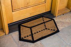 DIY 3D doormat!