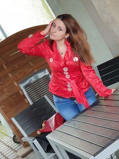 Models, Jacket Buttons, Blouse Designs, Leather Jacket, Shirt Dress, Blazer, Big, Tops, Sweaters