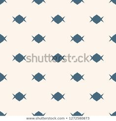 Candy Pattern Simple Minimalist Vector Seamless Texture With Small Shapes Abstract Blue And White