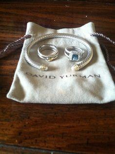 I will own a david yurman bracelet one day. One day soon