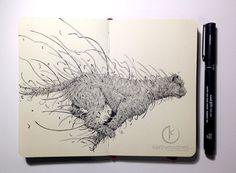 Kerby Rosanes est un jeune artiste de 23 ans résidant aux Philippines. On vous laisse admirer son travail dans la suite.