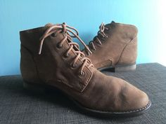fdcb47e67632  130 Sam Edelman Mare Lace Up Bootie Brown Leather Women Size 9M (see note)