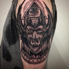 Anubis Tattoo 81