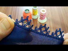 Crochet Lace Edging, Crochet Borders, Knit Crochet, Knit Shoes, Sweater Design, Felt Art, Knitted Shawls, Baby Knitting Patterns, Knitting Socks