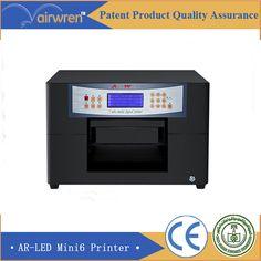 Automatic uv digital inkjet  printer  memory card flatbed prining machine