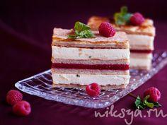 'Milena' -Millefeuille aux frutas rouges et à la menthe fraîche