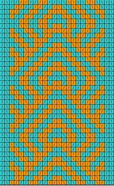Tablet Weaving Patterns - cross stitch pattern idea too. Tapestry Crochet Patterns, Crochet Motifs, Bead Loom Patterns, Crochet Chart, Beading Patterns, Cross Stitch Patterns, Inkle Weaving, Inkle Loom, Card Weaving