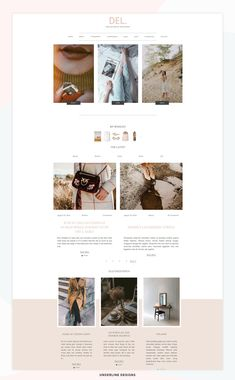 6bc8bd152785 48 Best Fashion Blog & Magazine WordPress Themes images in 2019