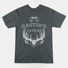 Shop Gaston's Tavern beauty and the beast t-shirts designed by shawnalizabeth as well as other beauty and the beast merchandise at TeePublic. Disney T-shirts, Disney Style, Disney Trips, Disney Magic, Gastons Tavern, Disney Outfits, Disney Clothes, Vacation Shirts, Text Style