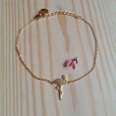 bracelet tiny Flamant rose