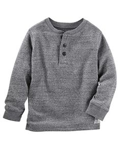 617c81c53006 Kid Boy Thermal Henley from OshKosh B gosh. Shop clothing   accessories  from a trusted name in kids