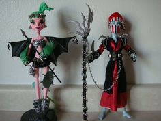 OOAK Monster High Doll Cam Killer Dragon Queen Ninja Prince Gil Webber Goth | eBay