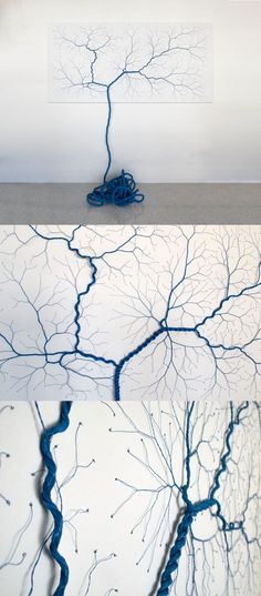 rope art lightning strike diy selfmade homemade