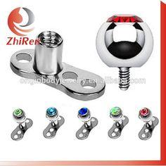 micro dermal anchor body jewelry piercing