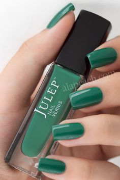 Julep Emilie (near dupe of OPI Jade is the New Black)