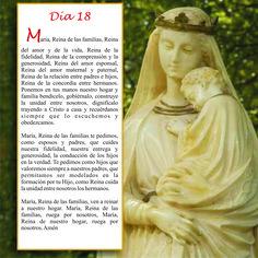 Oración día 18, Mayo mes de María