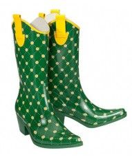 Green Bay Packers Stadium Stompers - Green and Yellow rain boots at Seasons by Design specialty shop, 2605 Ford Drive, New Holstein, WI 53061. 920-898-9081 follow us on Facebook seasonsbydesigngifts@yahoo.com