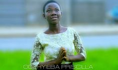 "Rising gospel sensation, Odehyie Priscilla comes through with ""Edin Bi Agye Me"", produced by glorifies Jesus, giving an account of the power his name Latest Music, Names Of Jesus, Songs"