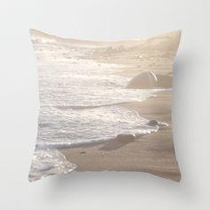 Dreamy Beach  Throw Pillow by Bree Madden  - $20.00