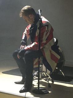 Union Jack David Bowie Earthling