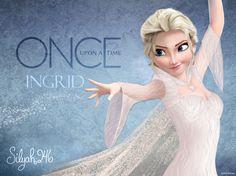 Ingrid [as Elsa] (As Movie Stars / Edits by Silyah246) #OnceUponATime #Frozen