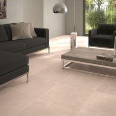 Garden cream porcelain tiles are a beautiful tile choice for anyone desiring porcelain floor tiles in a neutral shade. They are durable attractive flooring tiles for domestic or commercial environments.