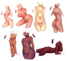 Random bodies cause Im Bored + Video Process by rika-dono