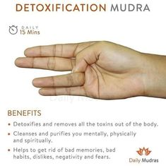 Mudra for Detox Health And Fitness Articles, Health Tips, Hand Mudras, Acupressure Points, Relaxing Yoga, Restorative Yoga, Chakra Meditation, Pranayama, Yoga Benefits